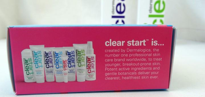 Dermalogica onzuiverhe huid gezichtsverzorging clear start