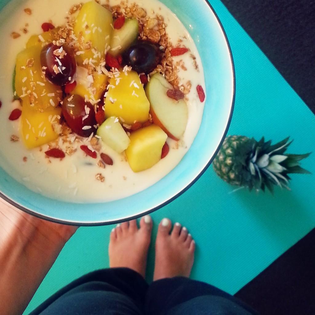 Fruit yoga