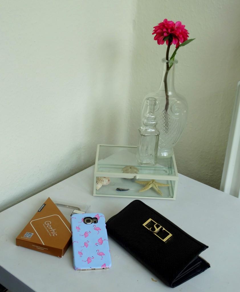 SuperTrash portemonnee flamingo  telefoonhoesje