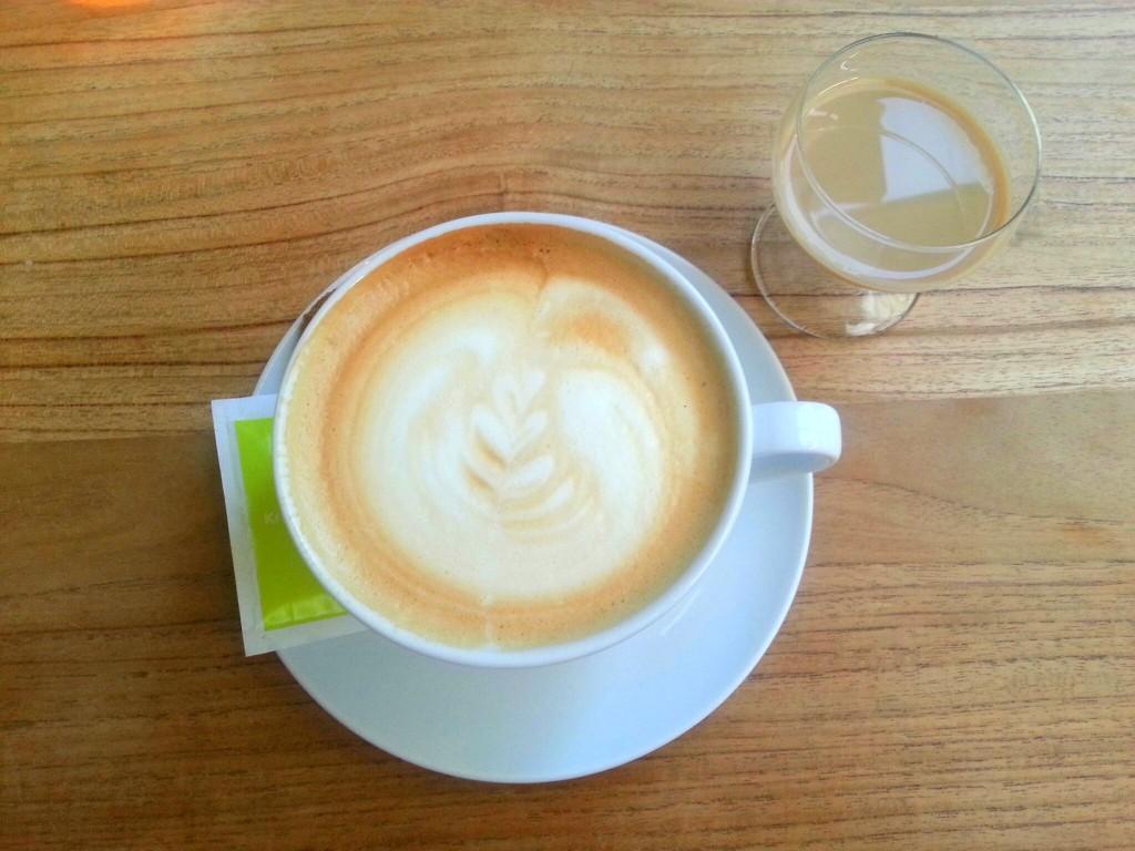 blonde pater koffie baileys