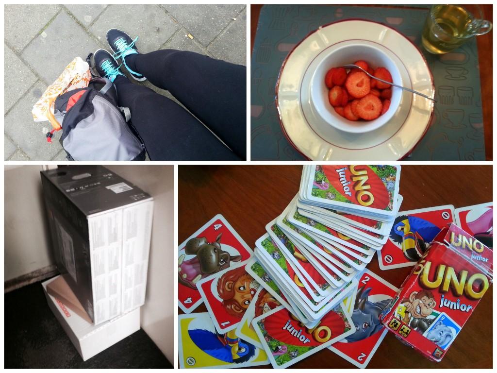 diary blog uno aardbeien