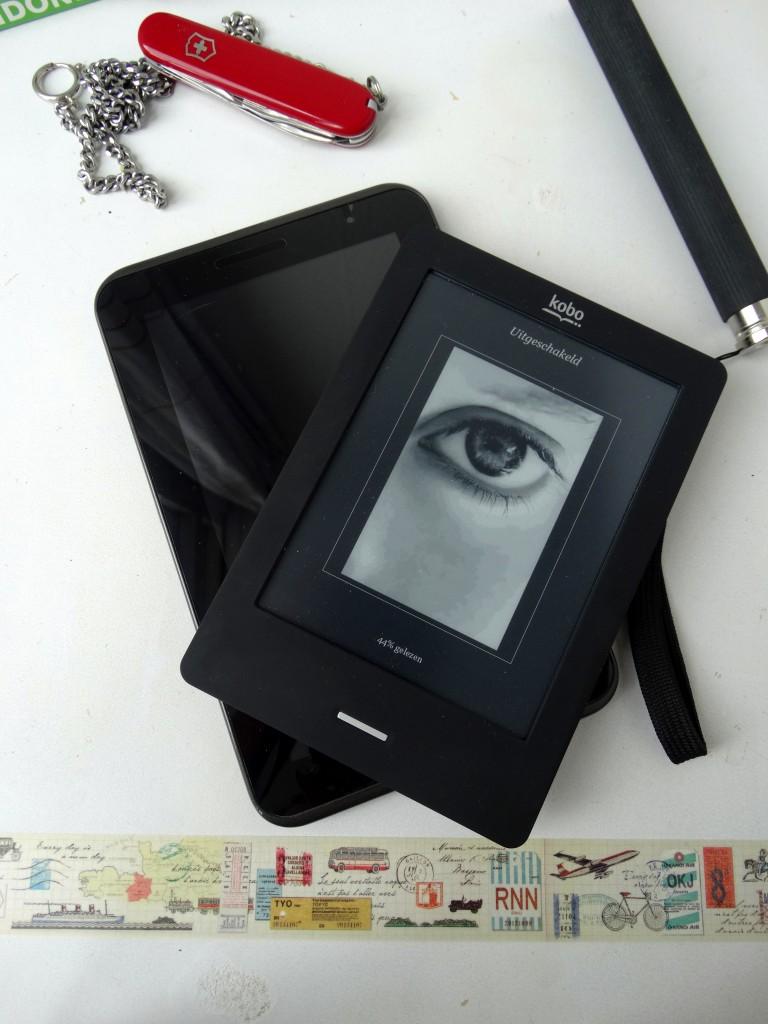 kobo e-reader samsung tablet