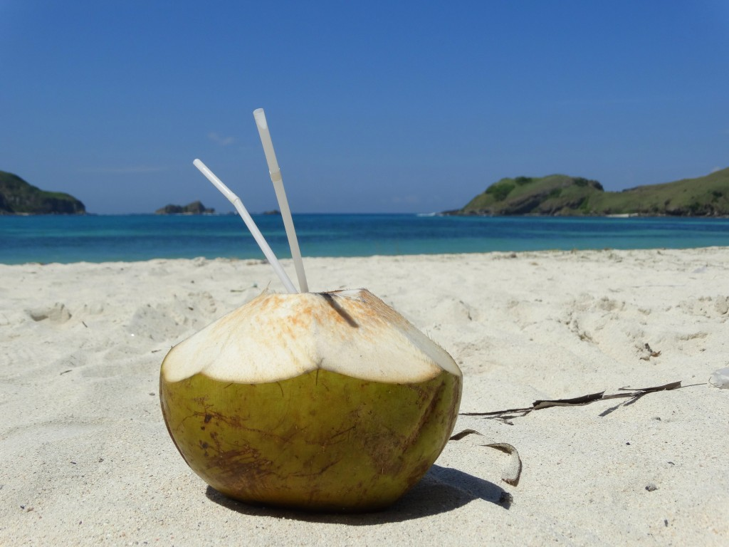 kokosnoot strand kuta lombok