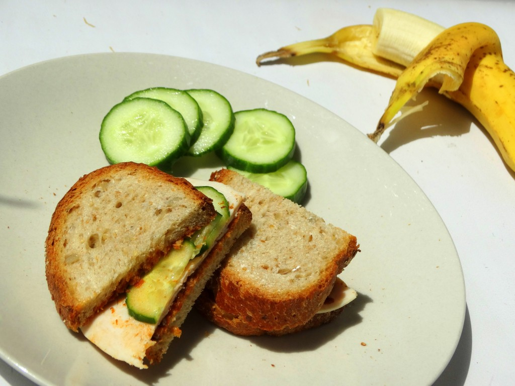 lunch speltbrood kipfilet