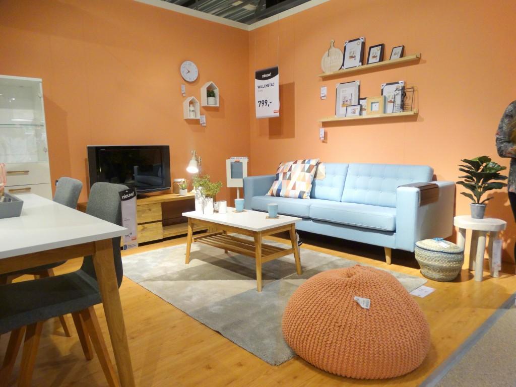 woonexpress trend oranje pastel