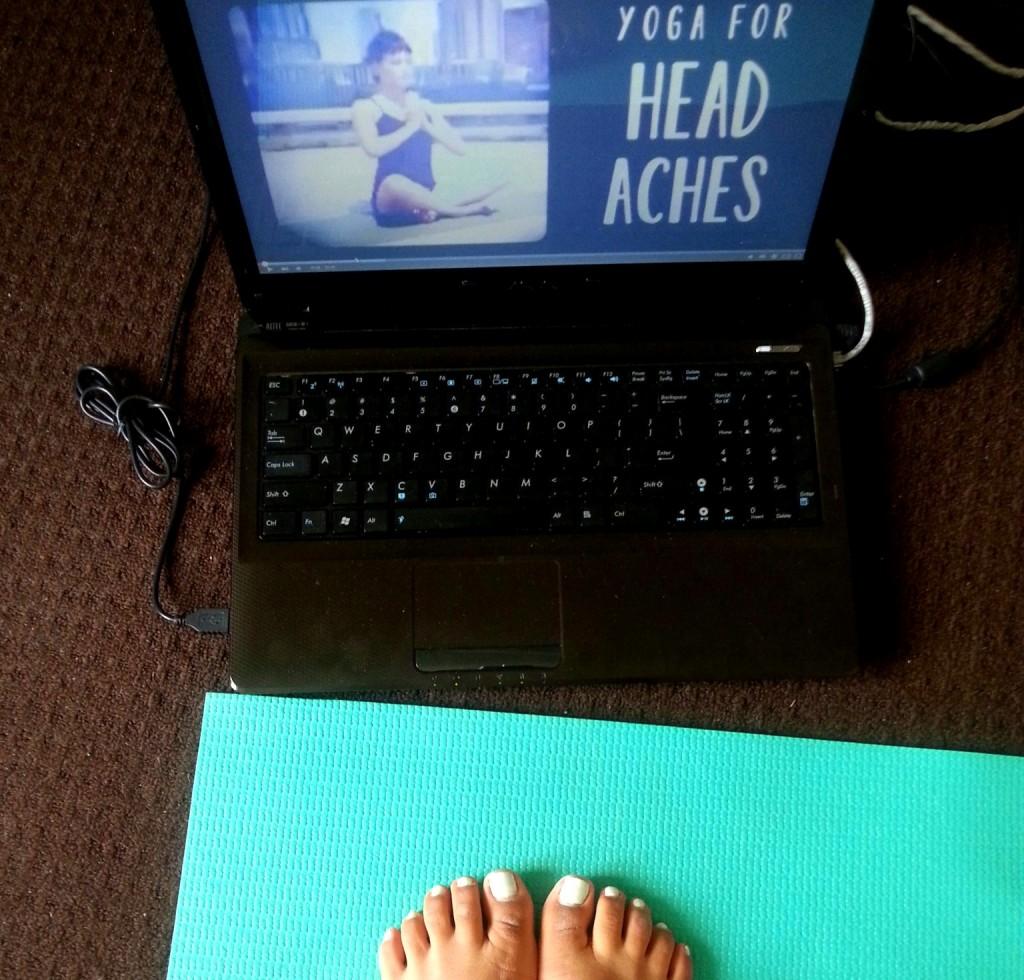 yoga voor hoofdpijn