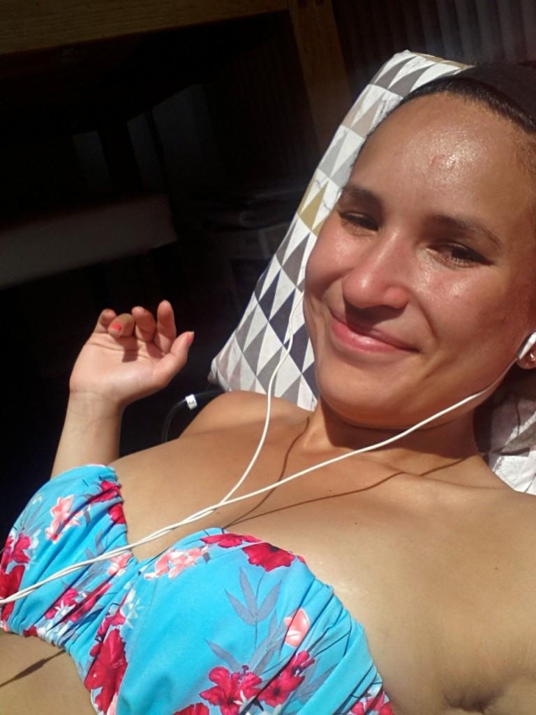 zonnen selfie
