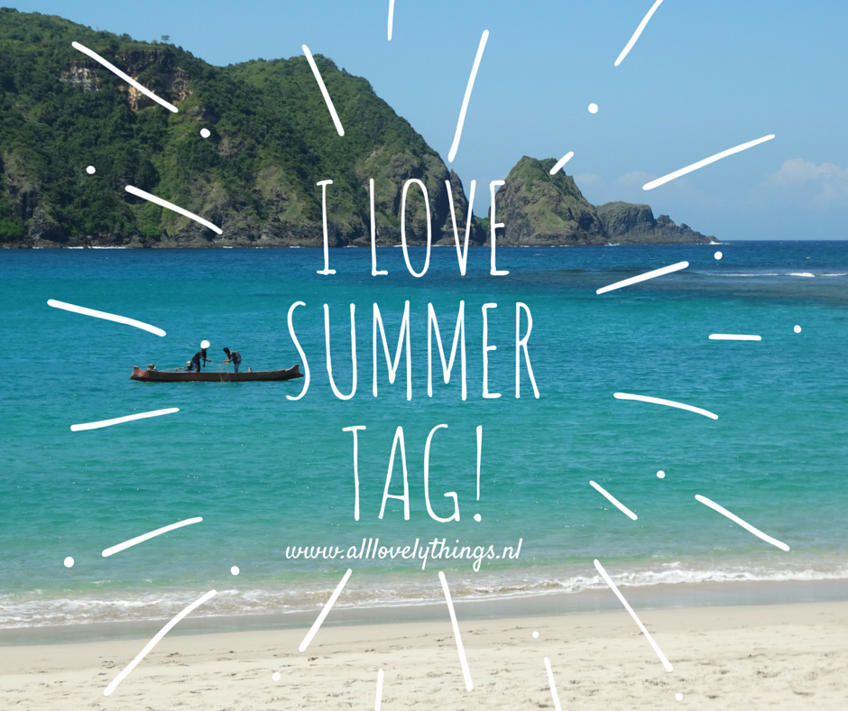 I Love summer Tag! #summer