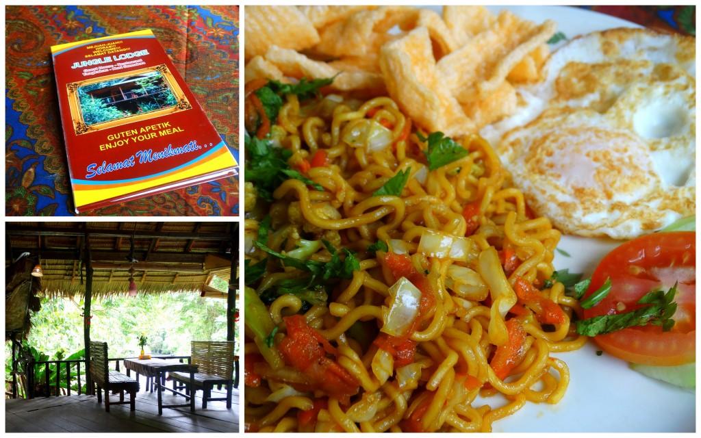 Jungle Lodge tangkahan eten Sumatra Indonesie