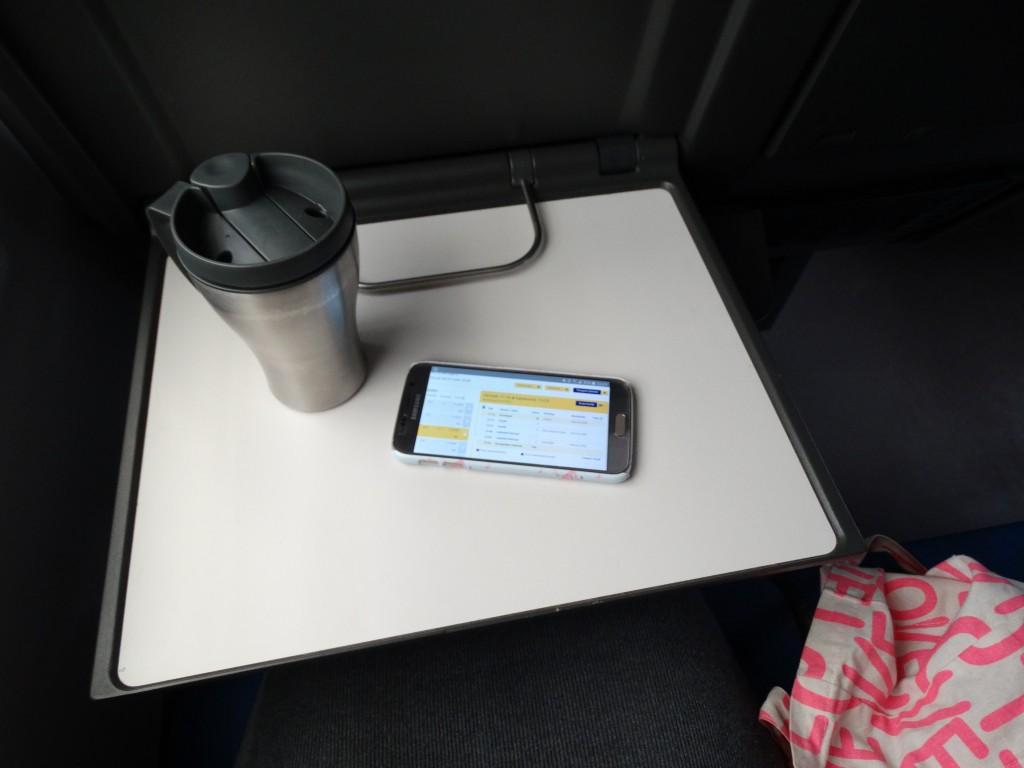 Ns trein naar Amsterdam