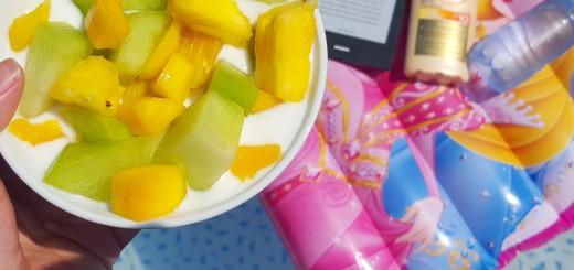 fruit zwembad ereader