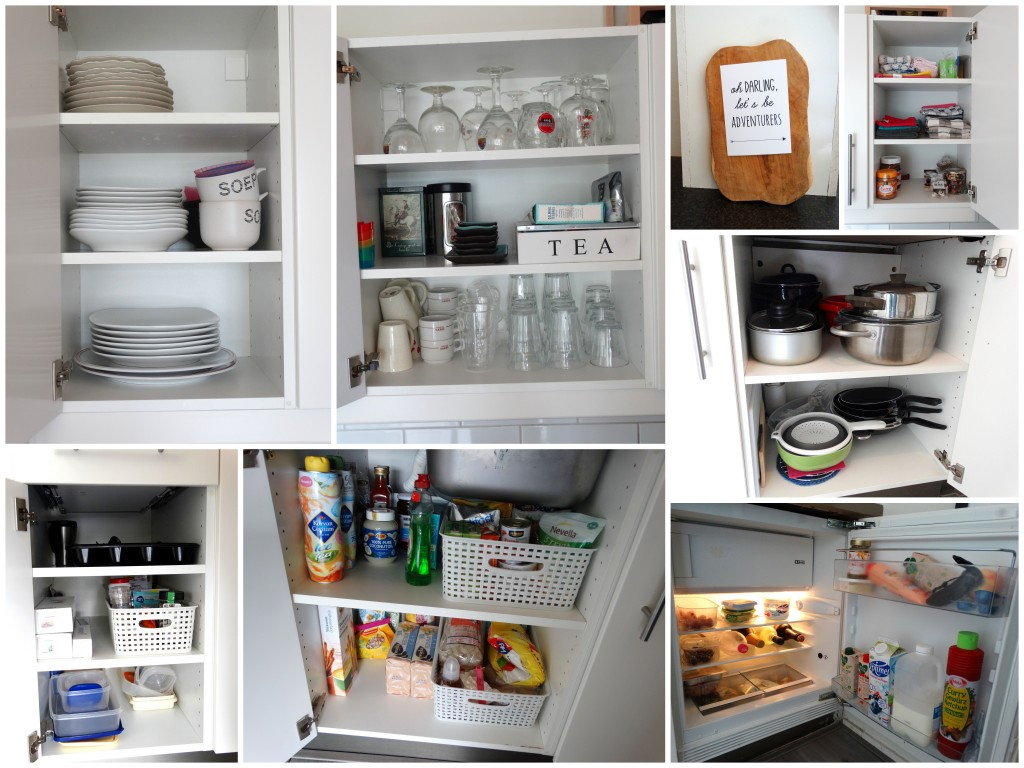 nieuwe keuken indeling kasten