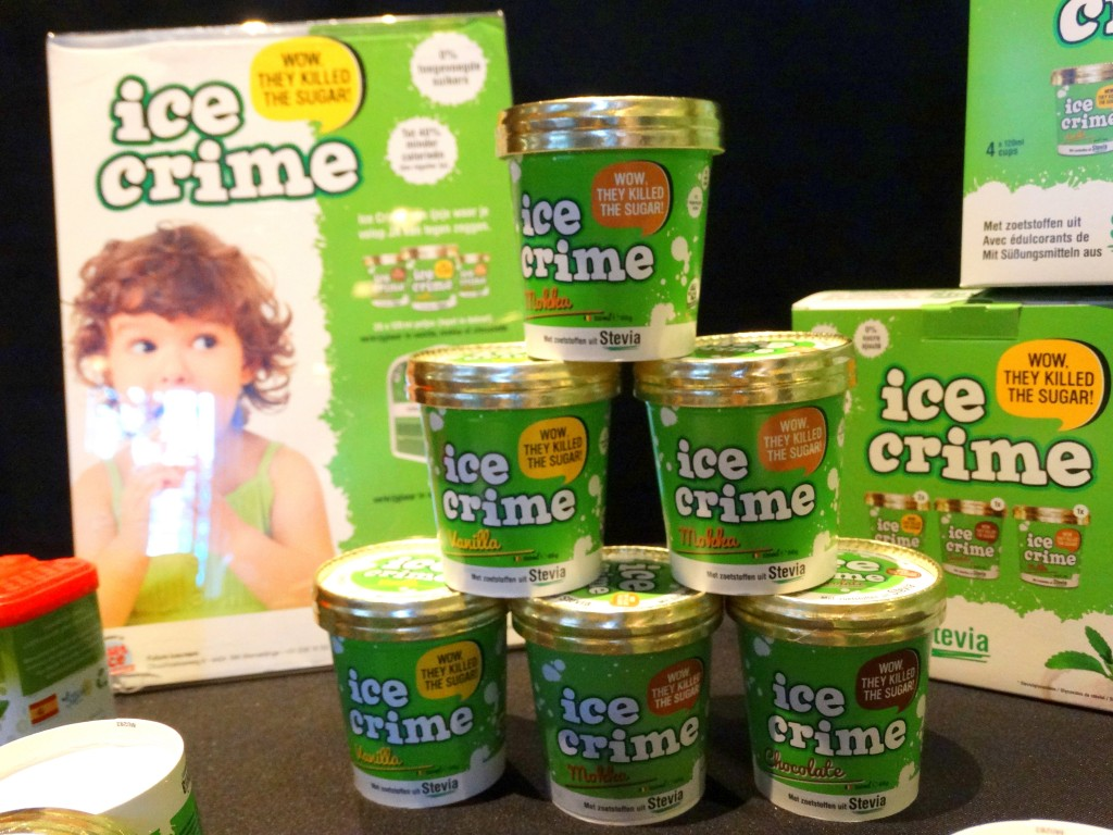 Ice crime ijs zonder suiker