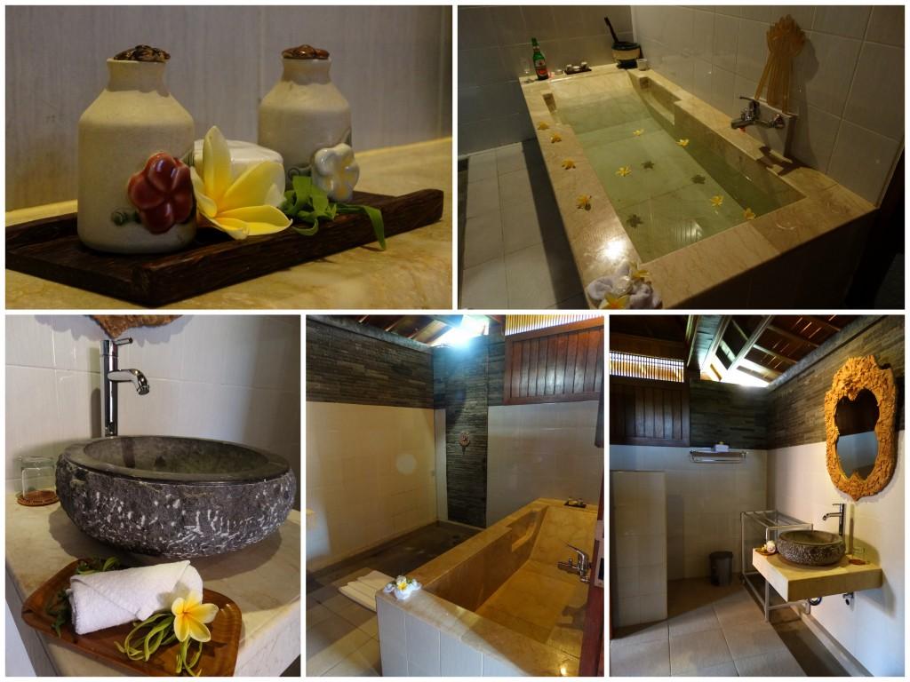 Nur guesthouse Ubud badkamer