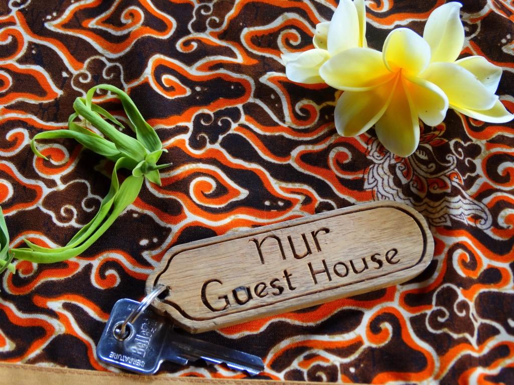 Nur guesthouse sleutels