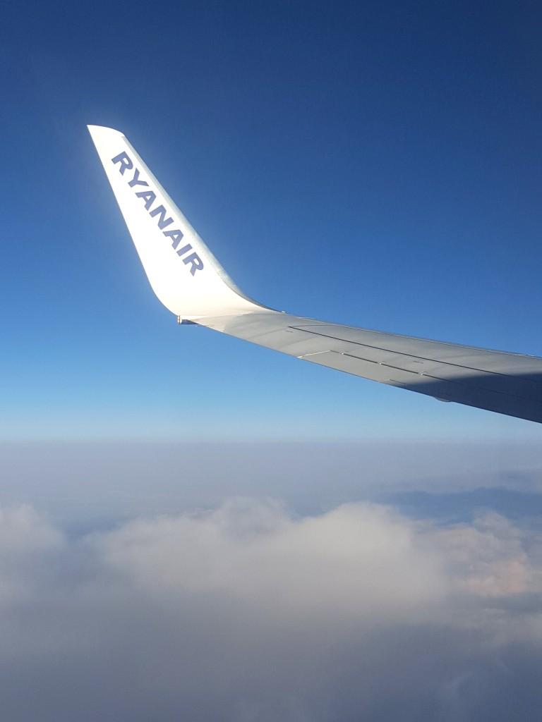 Ryan Air vliegen spanje