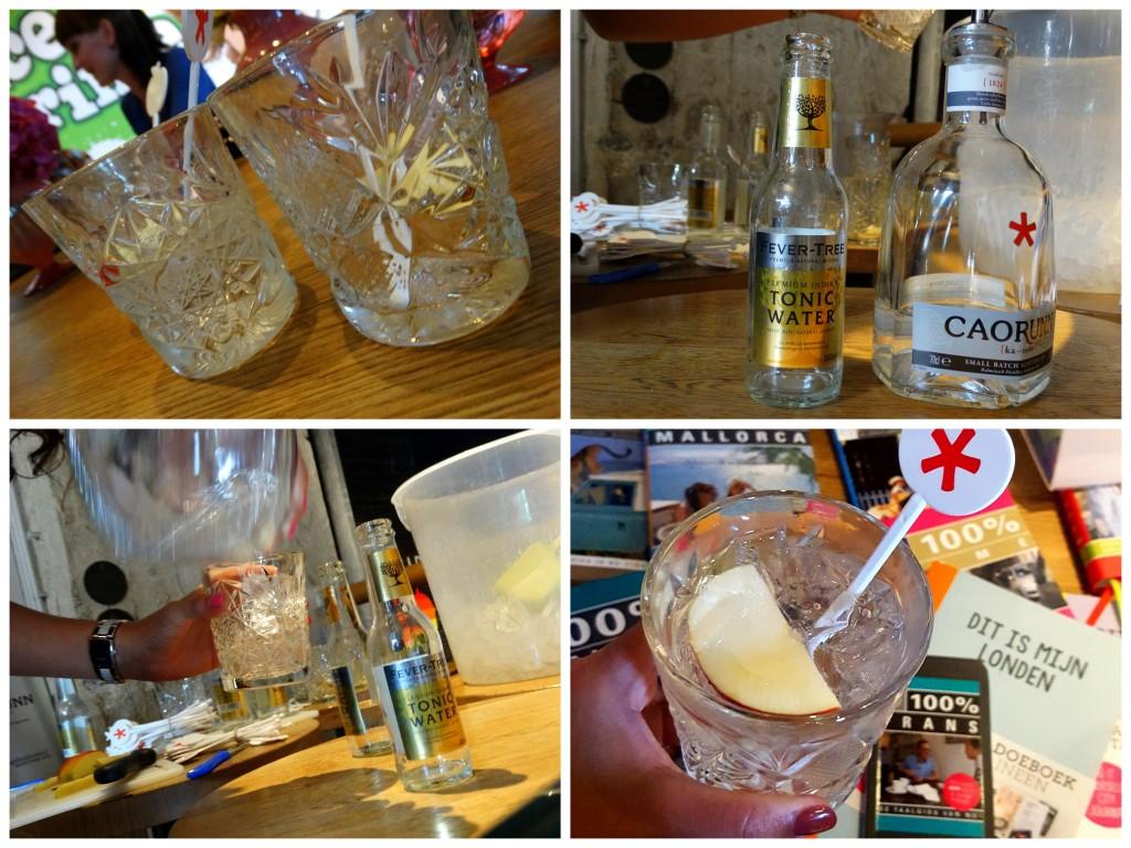 caorunn gin Proefparade