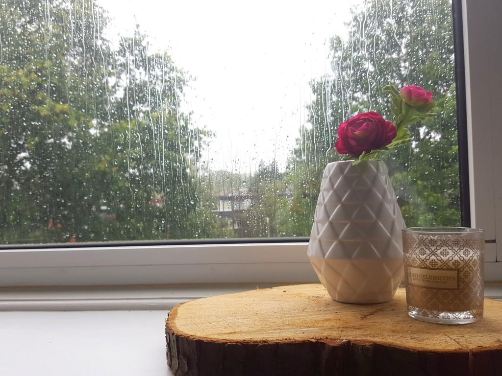 regen in de zomer