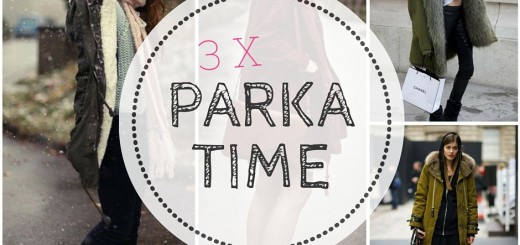 3 x parka time outfit