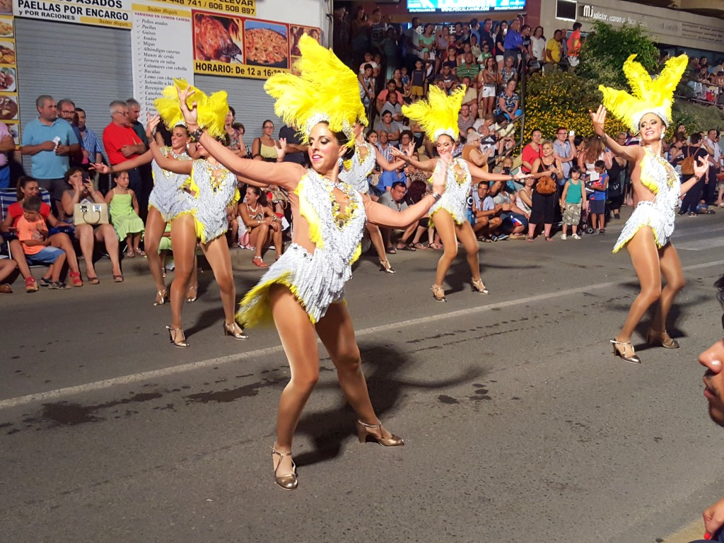 carnavals optocht zomer aguilas spanje