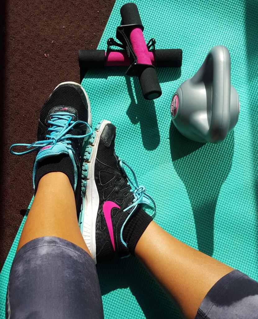 sporten kettlebel gewichten