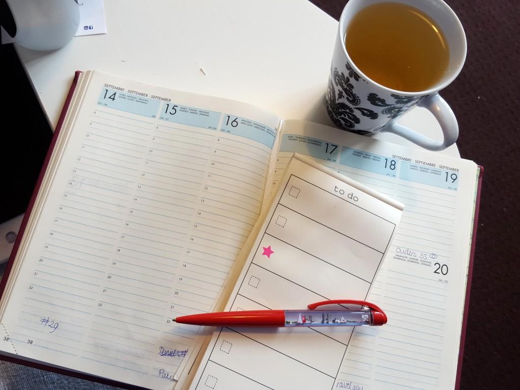 week plannen effectiever werken