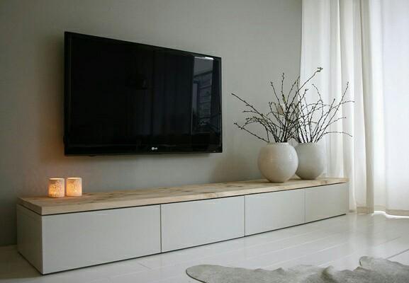Tv meubels inspiratie wit