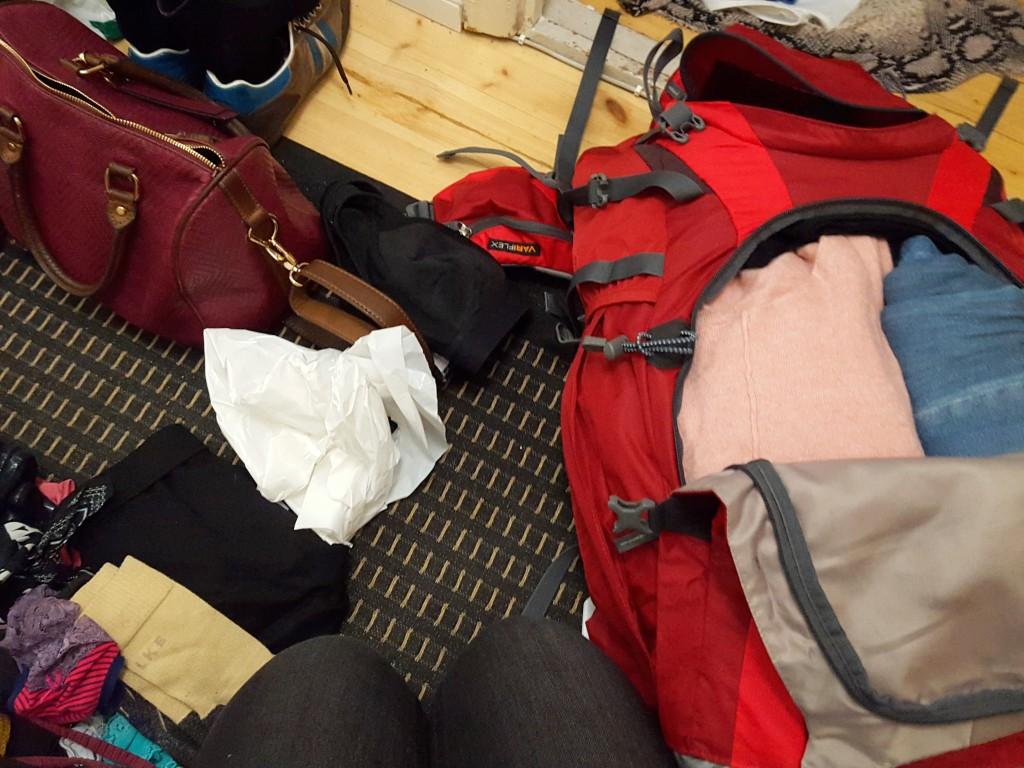 Deuter backpack inpakken