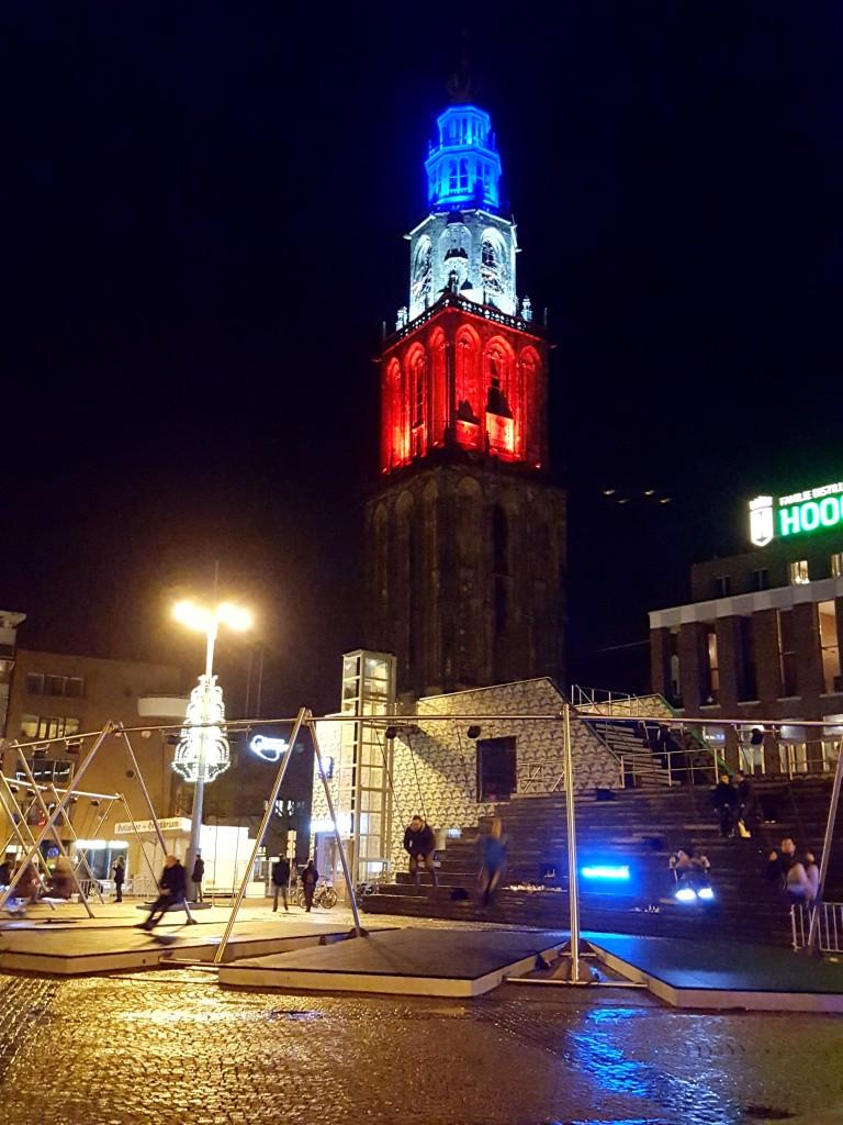 Groningen martini toren franse kleuren