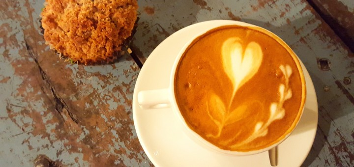 brooklyn cafe coffee muffin