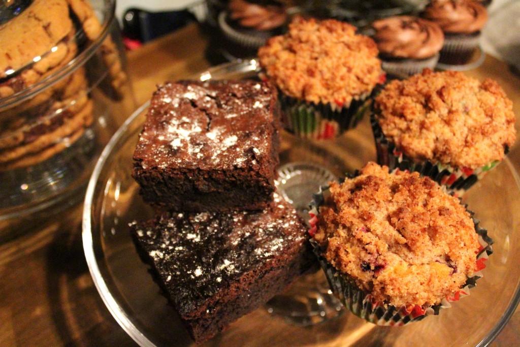 brownie blueberry muffin brooklyn cafe helsinki