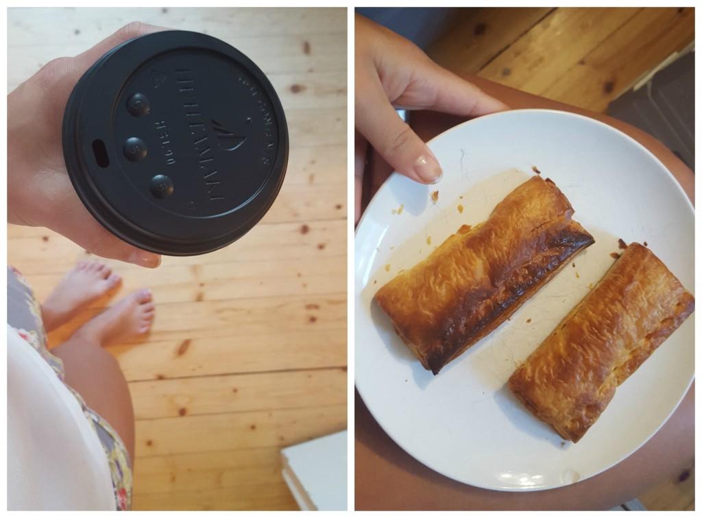 koffie saucijzenbrood