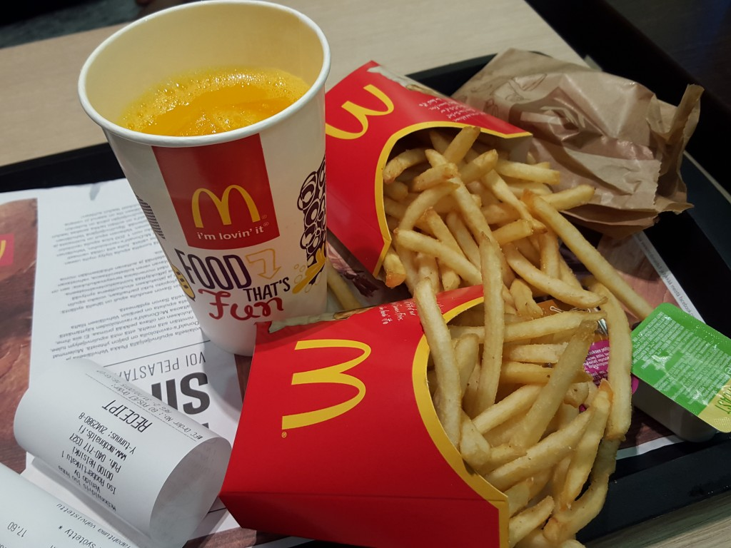 mac donalds friet