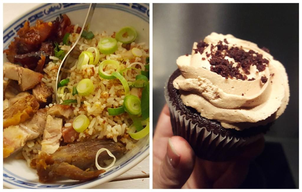 nasi  cupcake