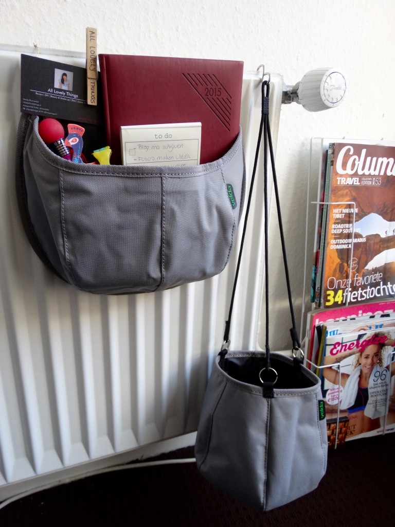velda water bag als opberger diy