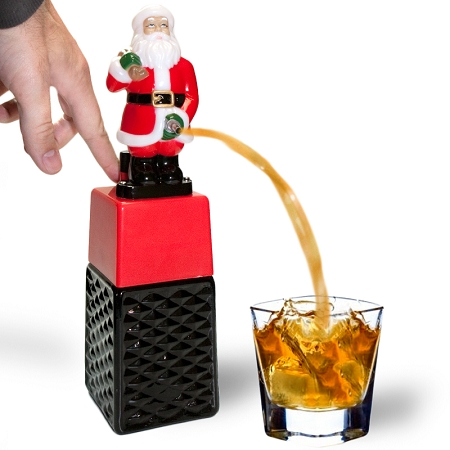 Maffe kerst cadeaus fles drank