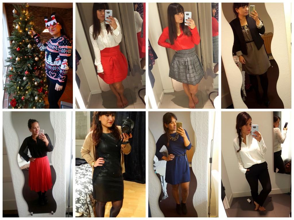 kerst outfit inspiratie a lijn rok jurk