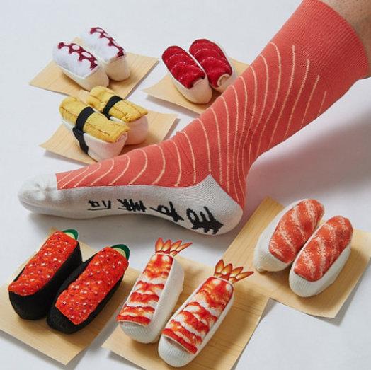 maffe cadeaus sushi sokken