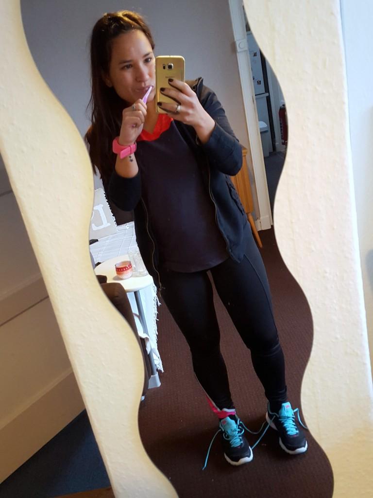 tandenpoetsen en sporten