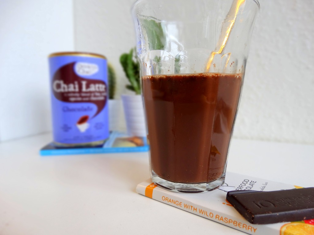 Chai Latte chocolate drink me Chai review