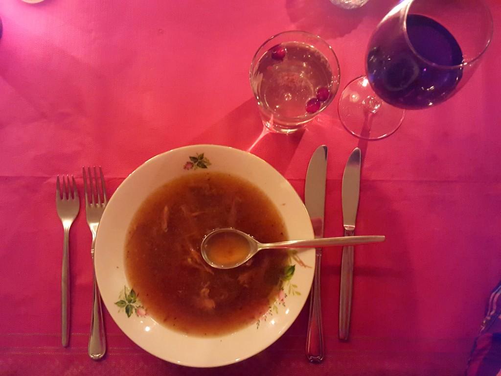 Ossenstaart soep kerst
