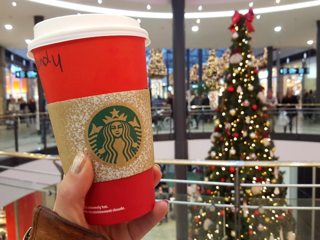 Starbucks koffie oberhausen kerst
