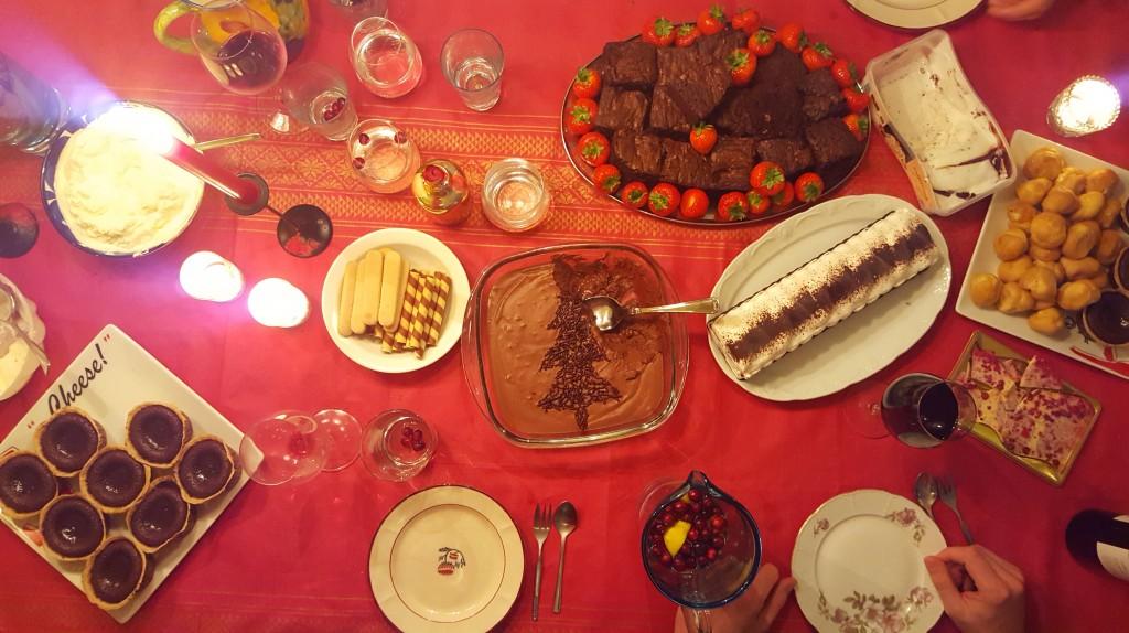 grand desser kerst