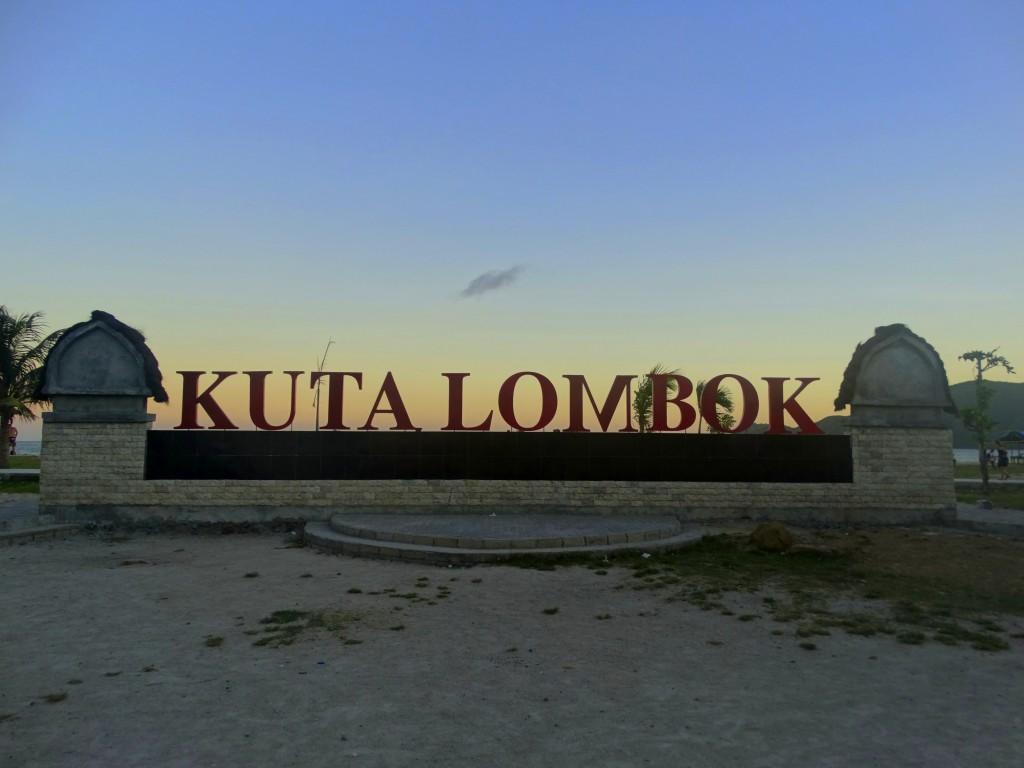 stranden in kuta lombok