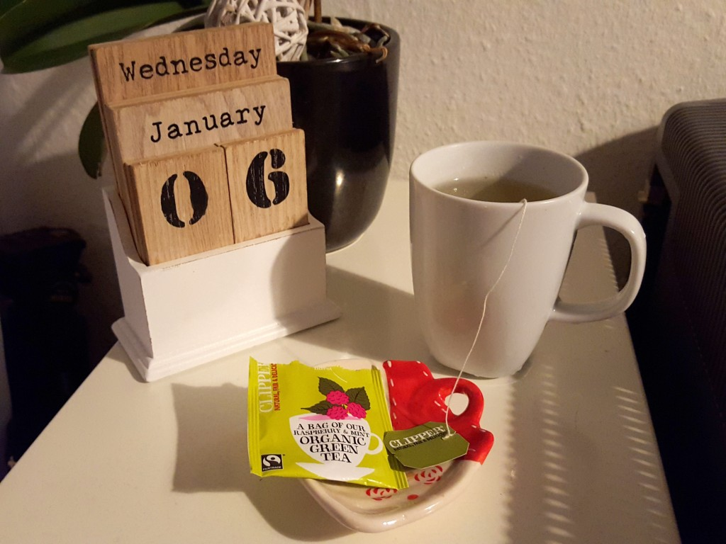thee wakker worden, normaal ritme, All Lovely Things diaryblog