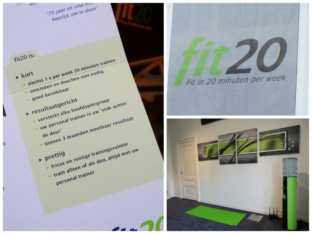 trainen bij fit20 voordelen
