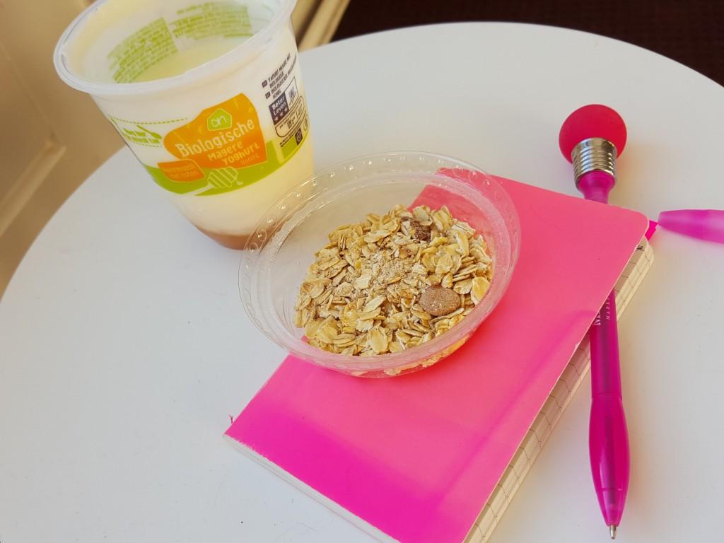 yoghurt met muesli
