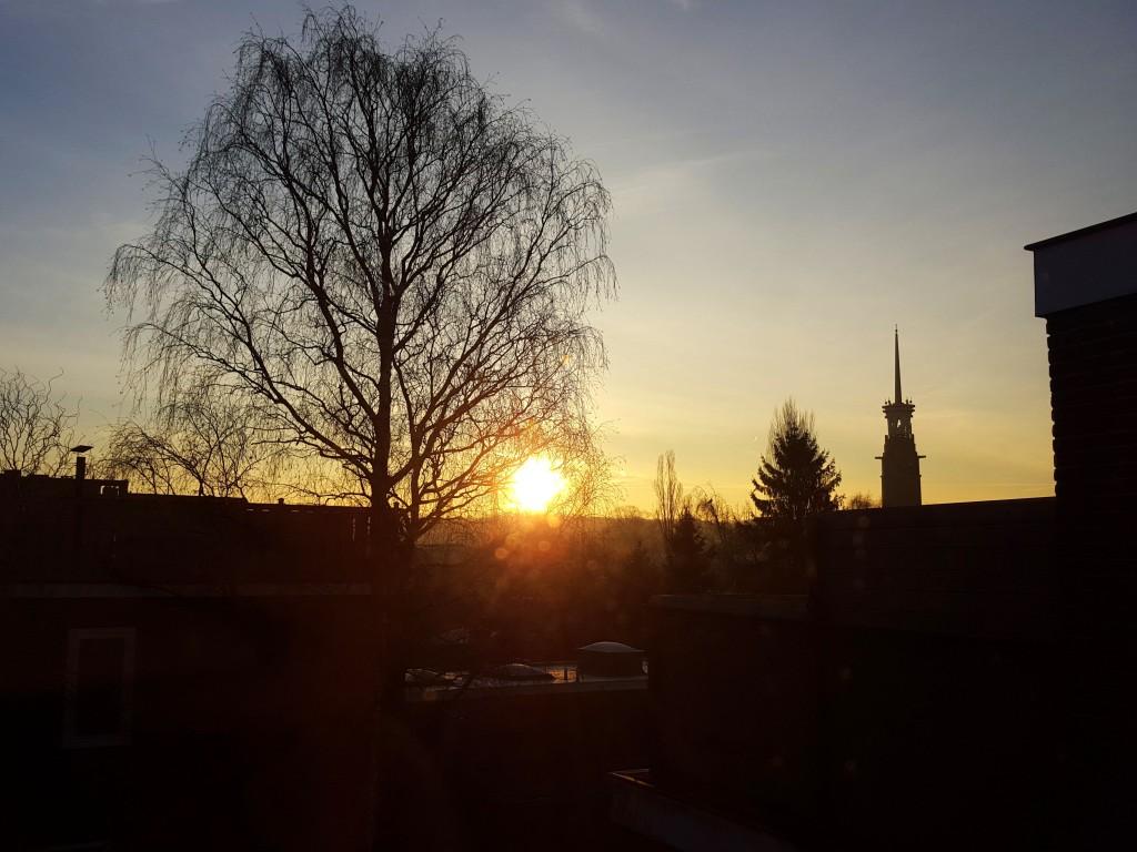 zonsopgang nijmegen
