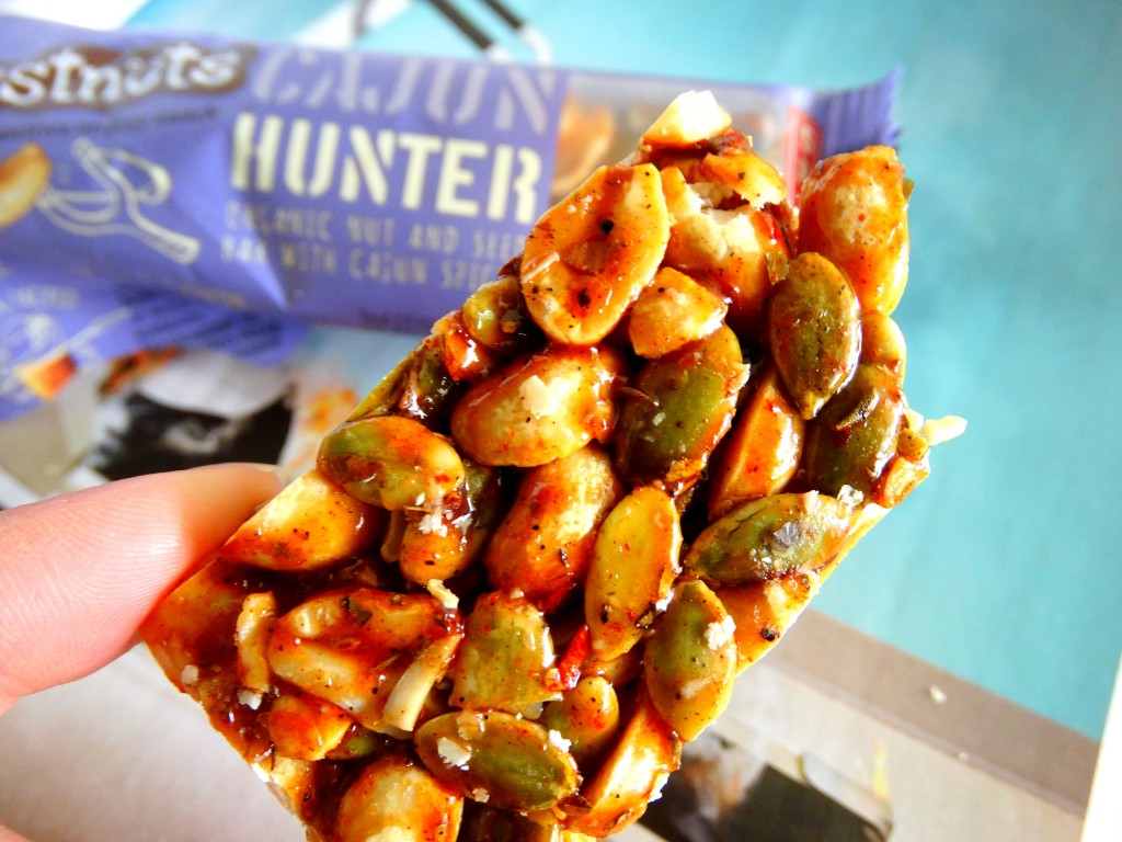 hunter just nuts spicy bar