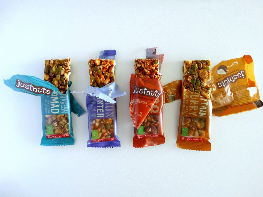 Just Nuts spicy bars review
